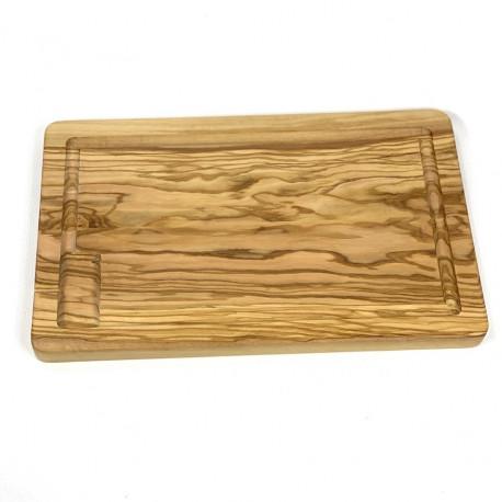 Planche à découper en bois d'olivier fait main - Villa Farese